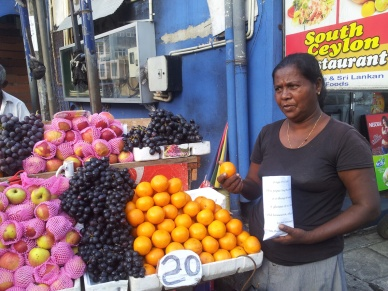 After Image witness statements made into bags for steet food