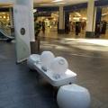 Soilari installation in shopping centre,Glasgow
