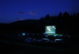 Drive In Movie. The City Dark