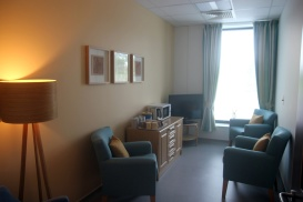 Family waiting room. Palliative Care