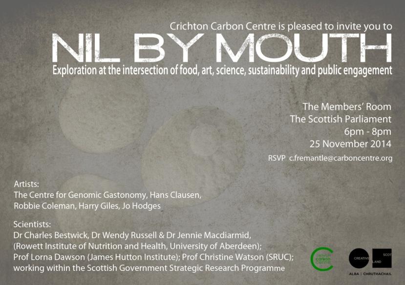 Nil by Mouth Invite