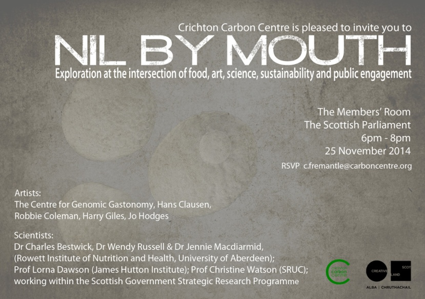 Nil by Mouth Invite