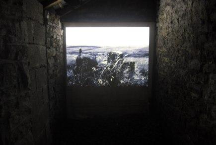 Thresholds. Coal bunker installation